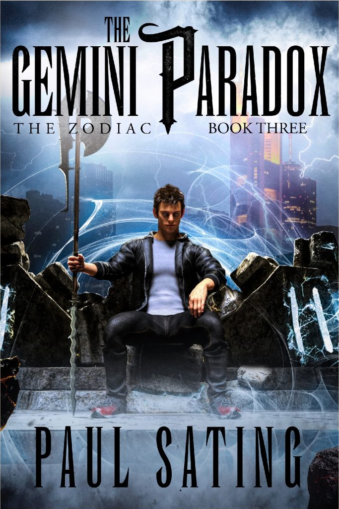 Book cover for The Gemini Paradox